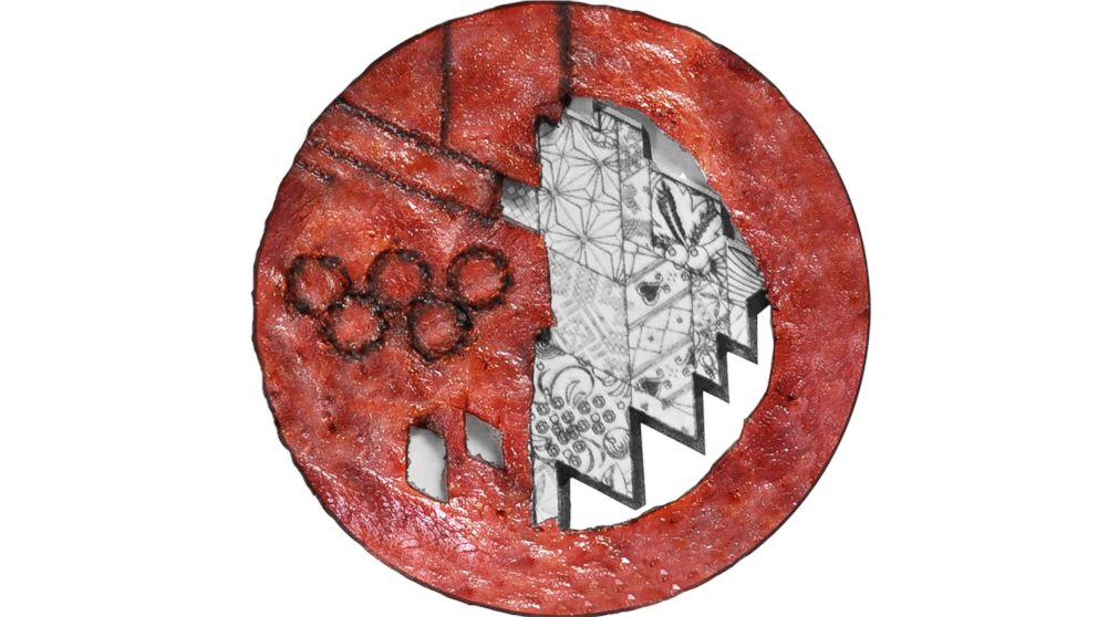 PHOTO: Pennsylvania-based Godshalls Meats shaped turkey bacon to look like the medals given out in Sochi, to honor snowboarder Sage Kotsenburg impressive moves on the slopes.