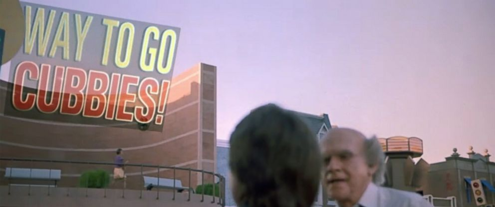 """PHOTO: A screen grab from the movie """"Back to The Future Part II""""."""