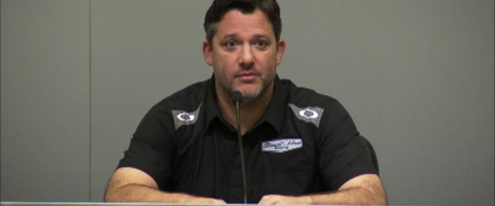 PHOTO: Tony Stewart appears in this screen grab speaking for the first time about the death of driver Kevin Ward Jr., Sept. 29, 2014.