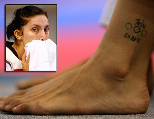 Stevenson, and her discreet ankle tattoo, are back for more.