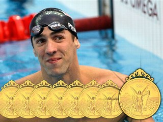 watch michael phelps wins 8th gold medal olympic record online videos