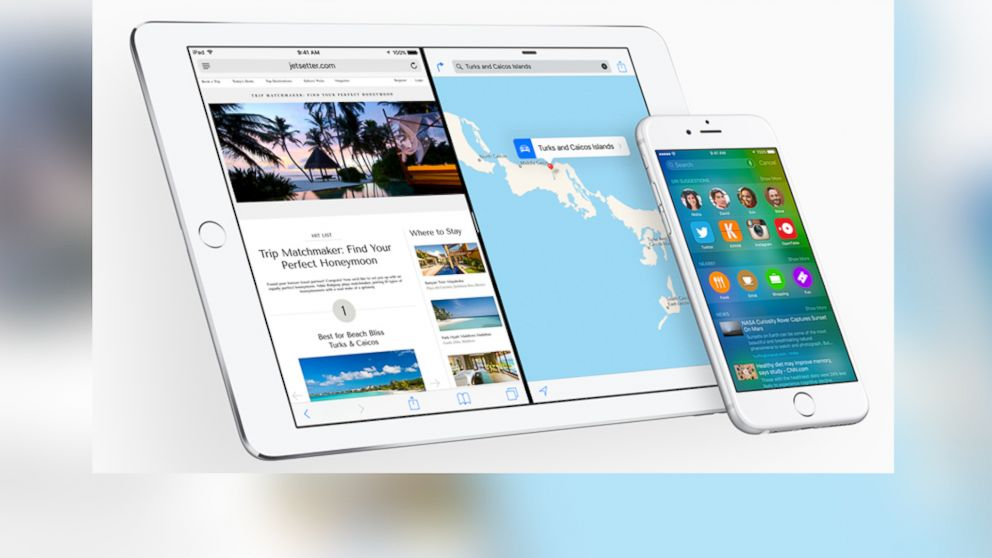 PHOTO: Apples iOS 9 is pictured.