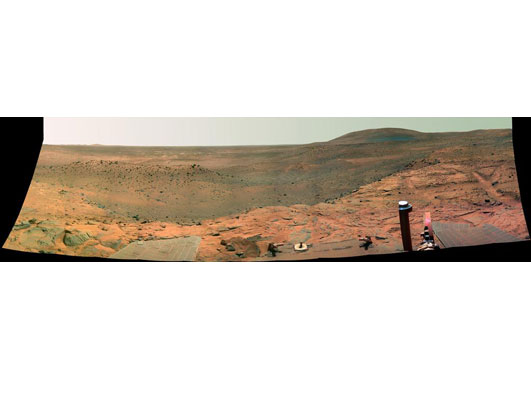 Postcards From Mars: Rovers' Exploits
