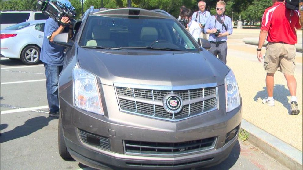 VIDEO: Members of Congress got the chance to ride in Carnegie Mellon Universitys new driverless car.
