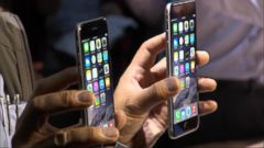VIDEO: The demand for the new model was double the preorders for the iPhone 5 two years ago.