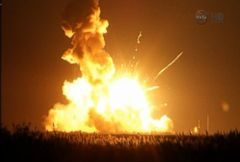 VIDEO: Caught on Tape: Supply Rocket Explodes During Launch