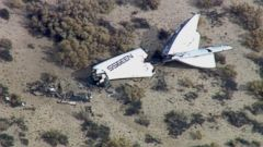 VIDEO: Virgin Galactic Spaceship Crashes Over Mojave Desert