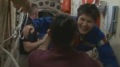 VIDEO: Italys First Female Astronaut Joins Space Station Crew