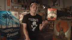 VIDEO: Shepard Fairey Told Us to Obey and to Hope