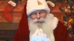 """VIDEO: The """"Hello Santa"""" app brings Santa straight to your device for a special greeting."""