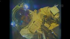 VIDEO: Astronauts on Spacewalk to Build Parking Lots