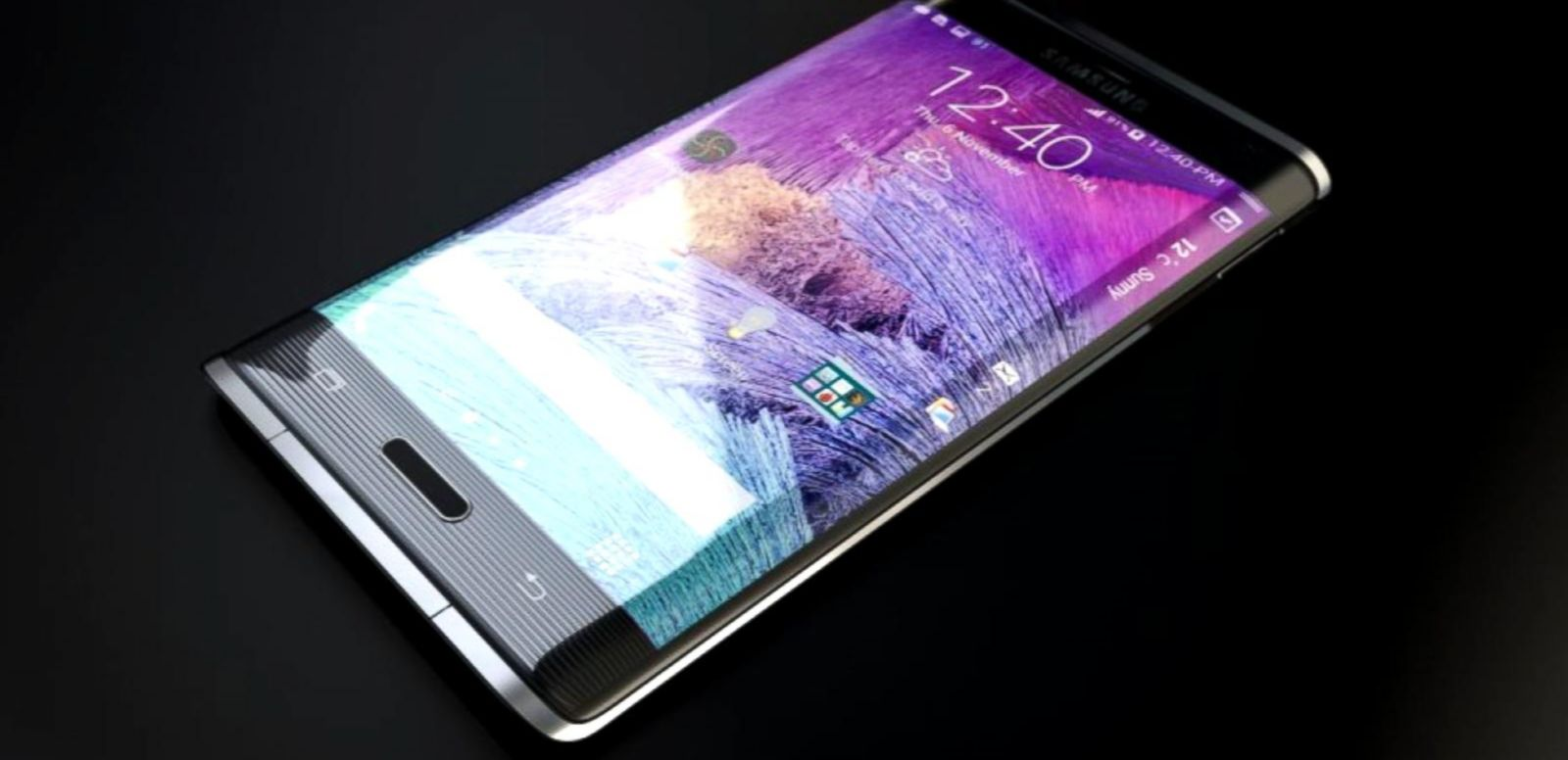 VIDEO: The company released two new phone models with a curved glass display and the ability to charge wirelessly.
