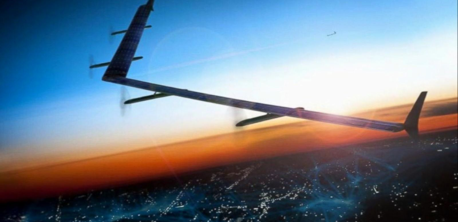 Facebook's Solar-Powered Drones Beam Down Web Access