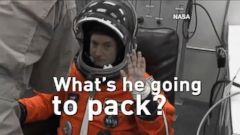 VIDEO: What will Scott Kelly pack for his year in space?