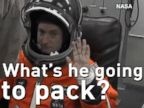Watch:  Scott Kelly's Luggage for a Year in Space