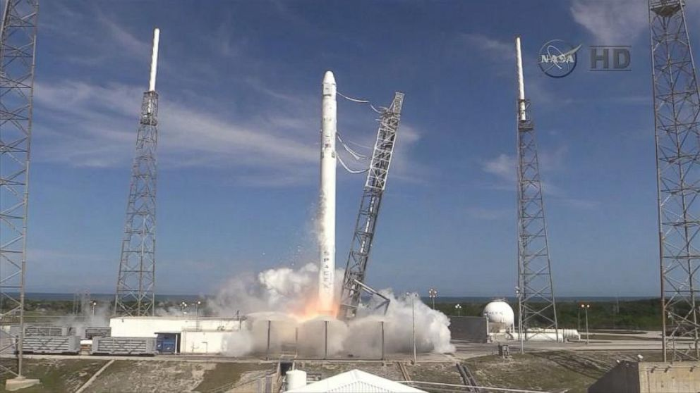 Watch spacex dragon lifts off on mission to refuel space station