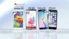 VIDEO: The Samsung Galaxy S5 took the top spot on the list.