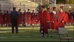VIDEO: Paralyzed Teen Crosses Stage at Graduation