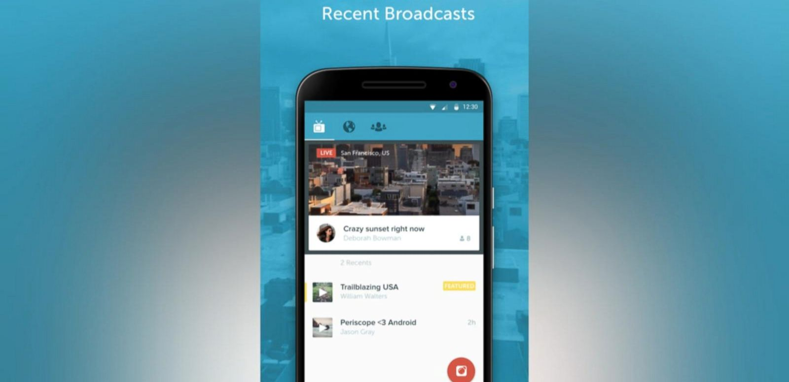 Twitter's Periscope Arrives on Android