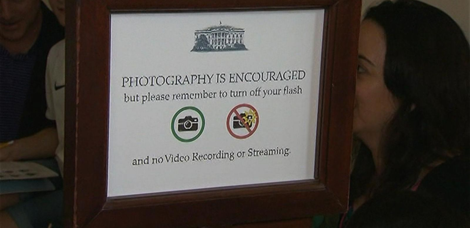 VIDEO: White House Photo Ban Lifted