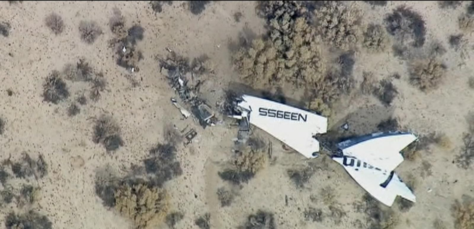 VIDEO: NTSB investigators say the crash in the Mojave Desert was caused by premature moving of the spacecraft's tail wings. Pilot Peter Siebold was injured and co-pilot Michael Alsbury was killed in the October 2014 crash.