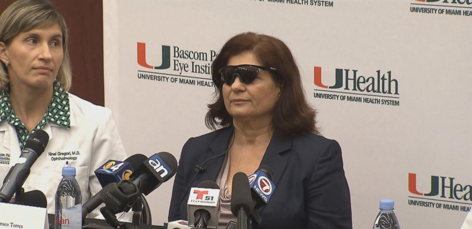 VIDEO: Bionic Eye Restores Woman's Vision