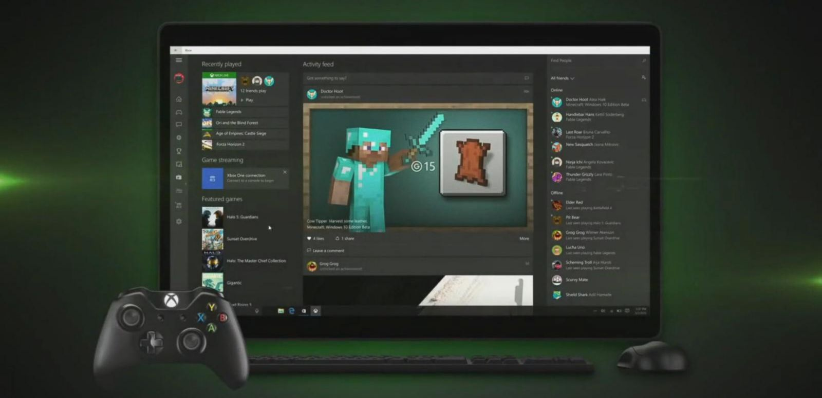 Xbox One gets Windows 10 Features