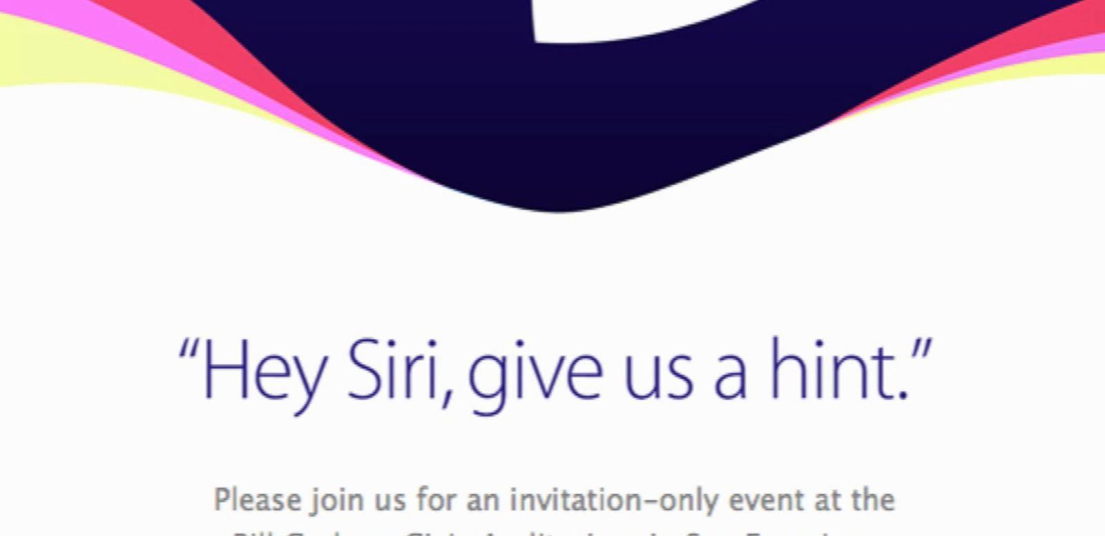 Apple Announces September 6 Event