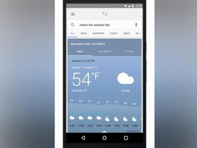 Watch:  Google Weather Reports