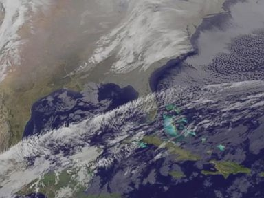 Watch:  A Winter Storm View From Space