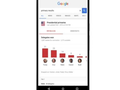 Watch:  Google Offers New Way to Stay on Top of the Presidential Election
