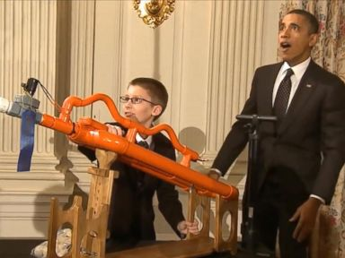Watch:  White House Science Fair: Most Memorable Moments