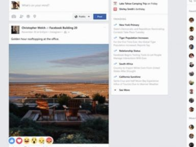 Watch:  Facebook Comes to Windows 10