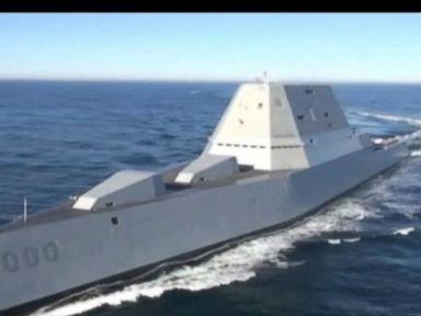 Watch:  Meet the USS Zumwalt, U.S. Navys Newest Destroyer