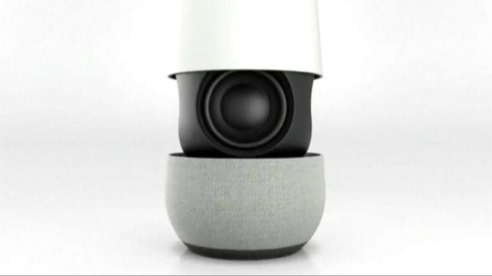 39 google home 39 voice activated digital assistant video abc news. Black Bedroom Furniture Sets. Home Design Ideas