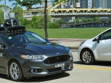 Watch:  Uber Testing Self-Driving Car in Pittsburgh