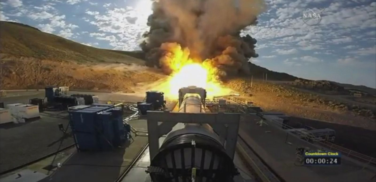 VIDEO: The agency plans to use the rocket for future deep space missions, including a crewed trip to the Red Planet in the 2030s.