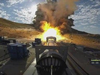 Watch:  NASAs Mars-Bound Rocket Booster Passes a Key Test