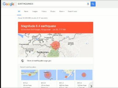Watch:  Google Earthquake Alerts
