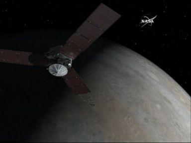 Watch:  Juno Spacecraft Enters Jupiters Orbit After 5-Year Journey