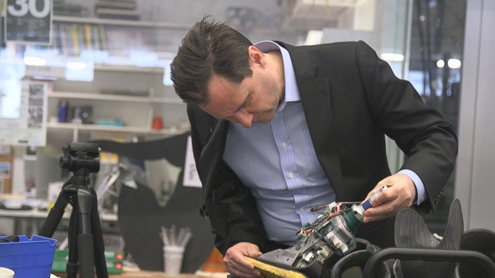 VIDEO: The New Bionic Man, How Hugh Herr is Changing Lives