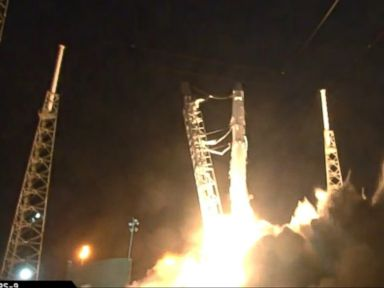 WATCH:  SpaceX Launches Space Station Docking Port for NASA
