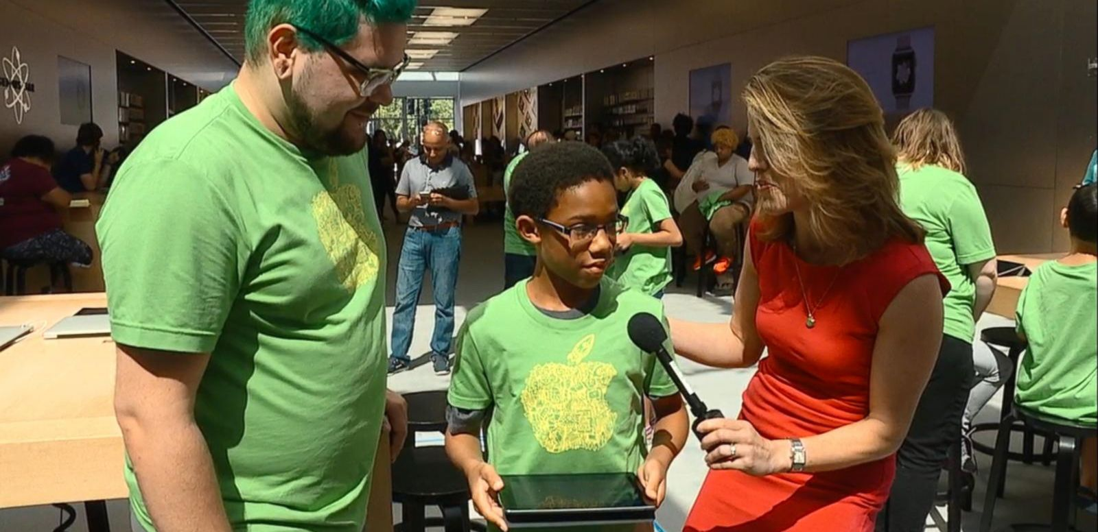 VIDEO: A Look Inside Apple's Free Coding Camp for Kids