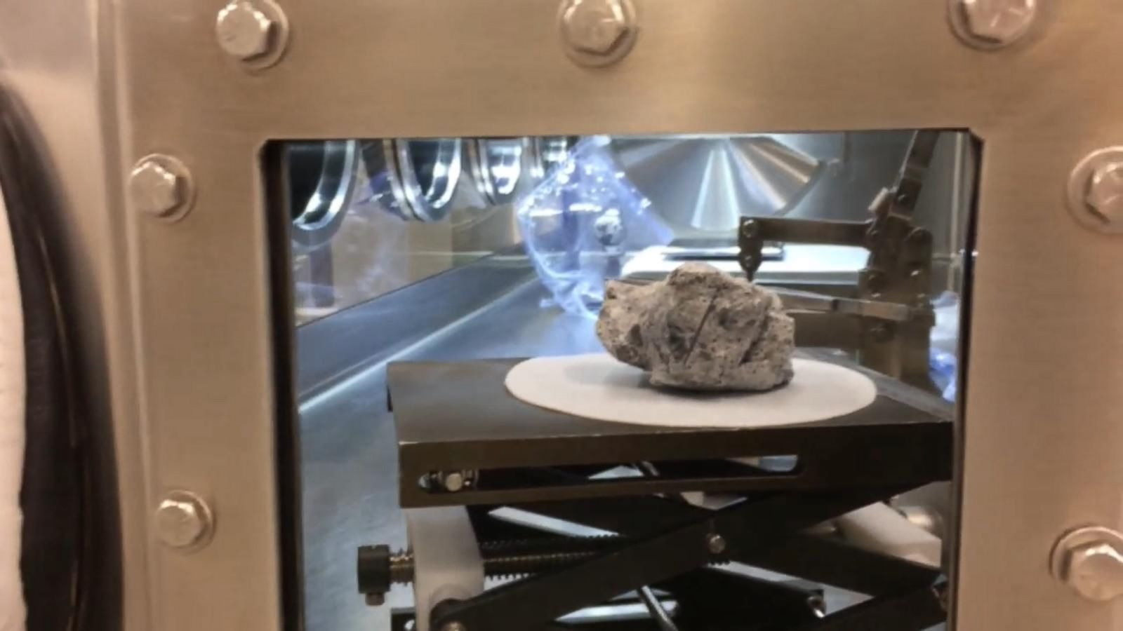 VIDEO: Moon Rocks and Asteroids at NASA's Johnson Space Center