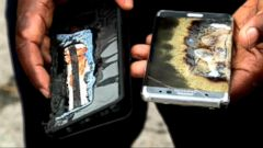 VIDEO: Samsung Faces Class Action Lawsuit Over Note7 Smartphones