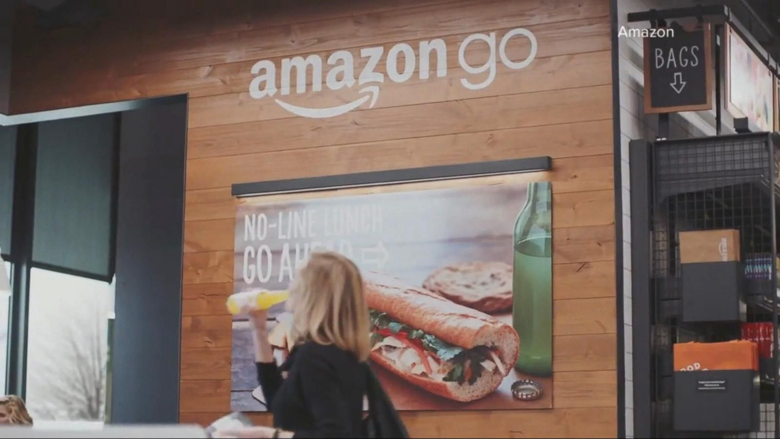 VIDEO: Amazon Puts High Tech Twist on the Traditional Grocery Store
