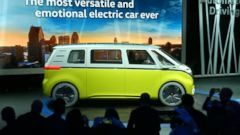 VIDEO: The electric vehicle has a design inspired by Volkswagens classic microbus.