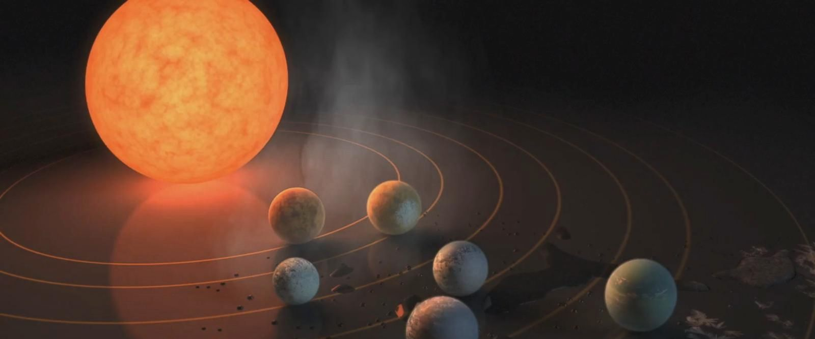 "The planets have been nicknamed ""Earth's seven sisters."""