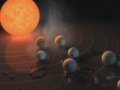 WATCH:  7 potentially habitable exoplanets discovered