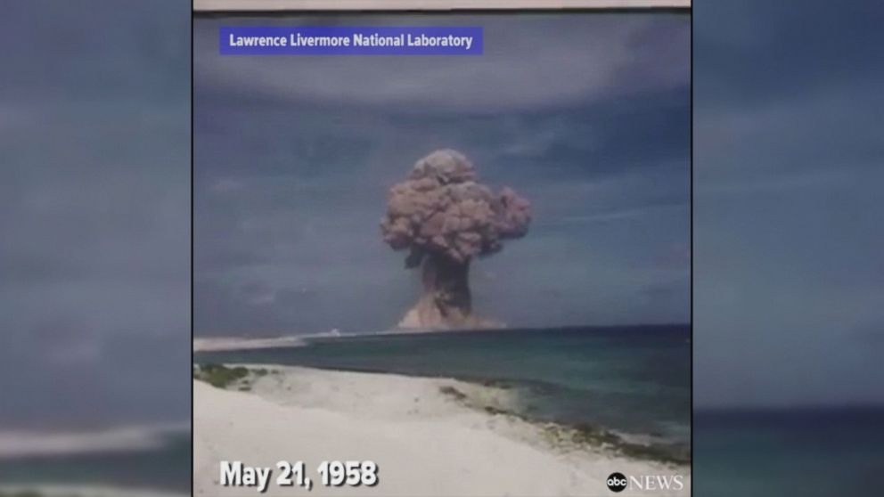 WATCH:  Declassified nuclear weapon test footage from 1958